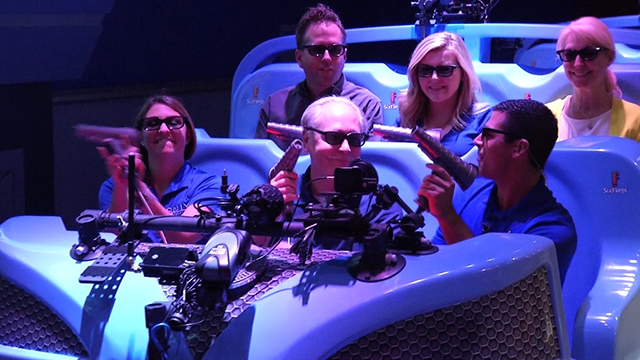 (On board ride video) The only ride of its kind in the southeast, JUSTICE LEAGUE: Battle For Metropolis 4D debuts at Six Flags Over Georgia near Atlanta. Engaging in a full-sensory journey on this high-thrill and interactive ride, guests will battle alongside BATMAN™, SUPERMAN™, WONDER WOMAN, THE FLASH and GREEN LANTERN against Lex Luthor, The Joker and his henchmen.