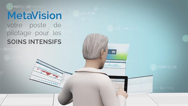 Regardez une demo de MetaVision ICU