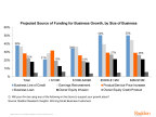Projected source of funding for small business growth, Raddon Research Insights 2017 (Graphic: Business Wire)
