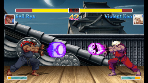 The newest iteration of Street Fighter II in 10 years, the Ultra Street Fighter II: The Final Challengers game is now available for the Nintendo Switch console. (Graphic: Business Wire)