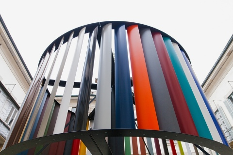 Axalta's stand 156 at Vision 2017 will include a specially-commissioned architectural installation featuring the new ICONICA colors. (Photo: Axalta)