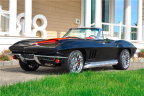This stunning '66 Corvette Resto Mod Convertible is a ground-up build with the most up-to-date C6 suspension and drivetrain and will cross the block during the 2nd Annual Barrett-Jackson Northeast Auction in June (Photo: Business Wire)