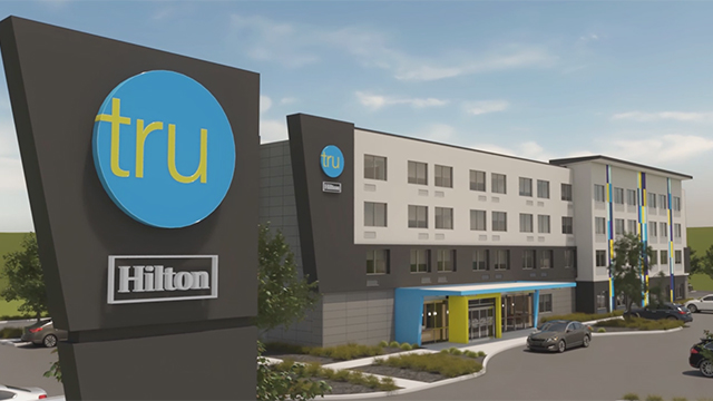 Tru by Hilton is a brand-new hotel experience that is vibrant, affordable and young-at-heart. It is energetic, but it is relaxing and comfortable. It is familiar, and it is also unexpected. It is uniquely Tru.