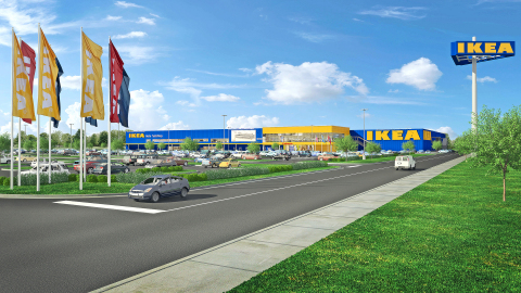 IKEA Submits Plans to Open Nashville Store Summer 2020 (Photo: Business Wire)