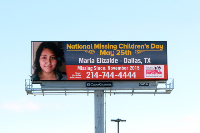 The search continues for Maria Elizalde and others missing from the Texas area in just the last few years.  (Photo: Business Wire)