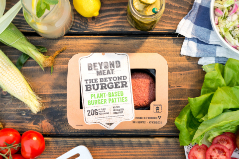 Game-changing plant-based burger breaks through to the meat case at Safeway as consumer demand for plant-based protein grows (Photo: Business Wire)