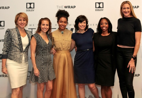 "On Thursday, May 25, 2017, Dolby Laboratories and TheWrap hosted TheWrap Power Women Breakfast at Dolby Laboratories in San Francisco, CA. The event, moderated by Jennifer Bowcock, VP, Global Communications, Dolby Laboratories, and Sharon Waxman, Founder and CEO, TheWrap, featured interviews with Olympic medalist Kerri Walsh Jennings and actress Yara Shahidi, a Q&A Digital Panel, ""The Pace & Face of Change,"" with Kendra Bracken-Ferguson, CEO, The BrainTrust, Kathleen Grace, CEO, New Form Digital, and Lisa Sugar, Founder and President, Popsugar, and a charity auction benefitting BayKids Studios. (Photo: Margot Duane)"