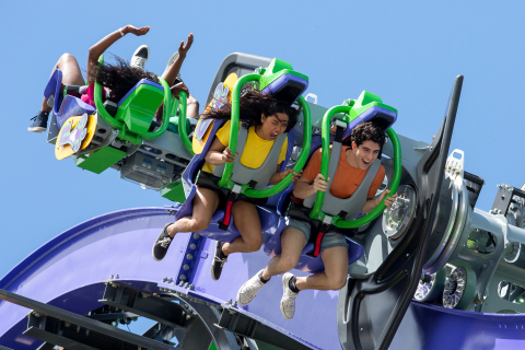 THE JOKER Free Fly Coaster (Photo: Business Wire)