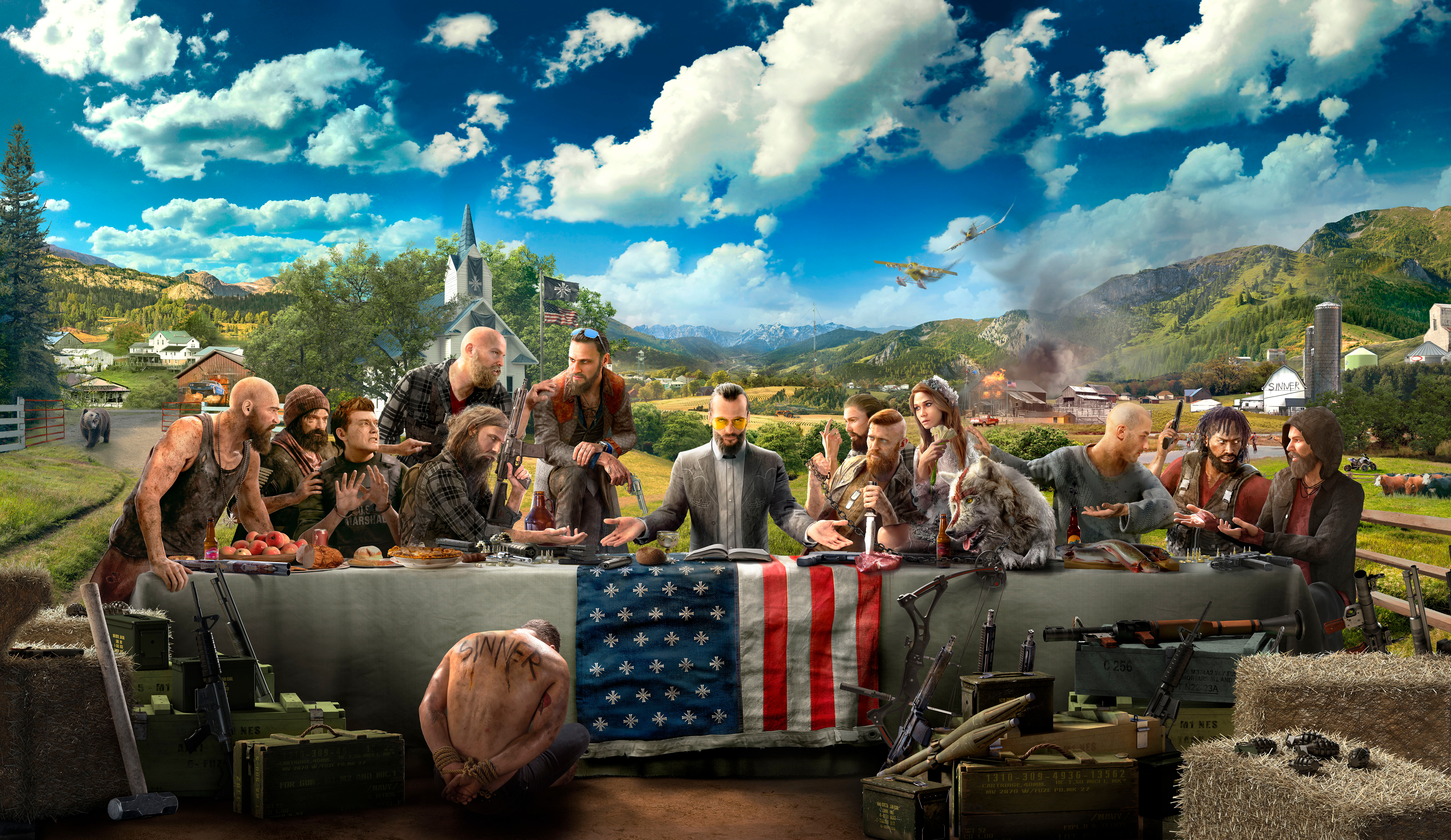 Far Cry 5 artwork (Photo: Business Wire)