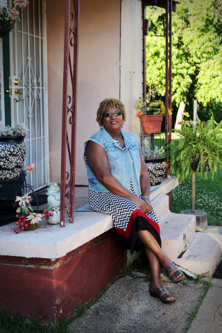 Nearly $6,000 in Special Needs Assistance Program funds from Red River Bank and the Federal Home Loan Bank of Dallas helped Theresa Kimble of Shreveport, Louisiana, replace the roof of her home. (Photo: Business Wire)