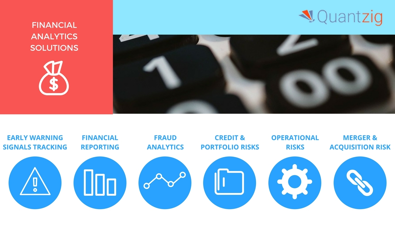 Quantzig helps organizations through financial analytics solutions. (Graphic: Business Wire)