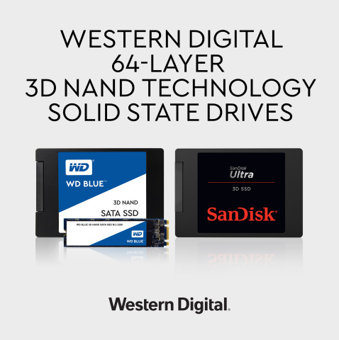 Western Digital releases WD Blue 3D NAND SATA SSDs