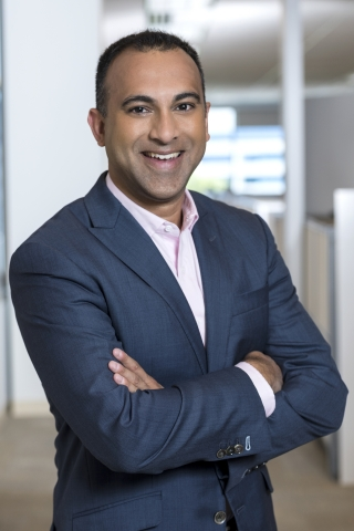 Navin Shenoy, executive vice president and general manager of the Data Center Group at Intel Corporation (Credit: Intel Corporation)