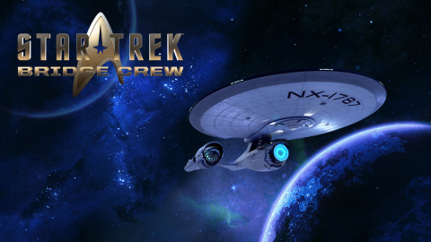 Ubisoft's new Virtual Reality Game Star Trek: Bridge Crew now on PlayStation VR, Oculus Rift and HTC Vive for cross-platform play. (Graphic: Business Wire)