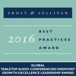 Yamaha Earns Frost & Sullivan's Growth Excellence Leadership Award