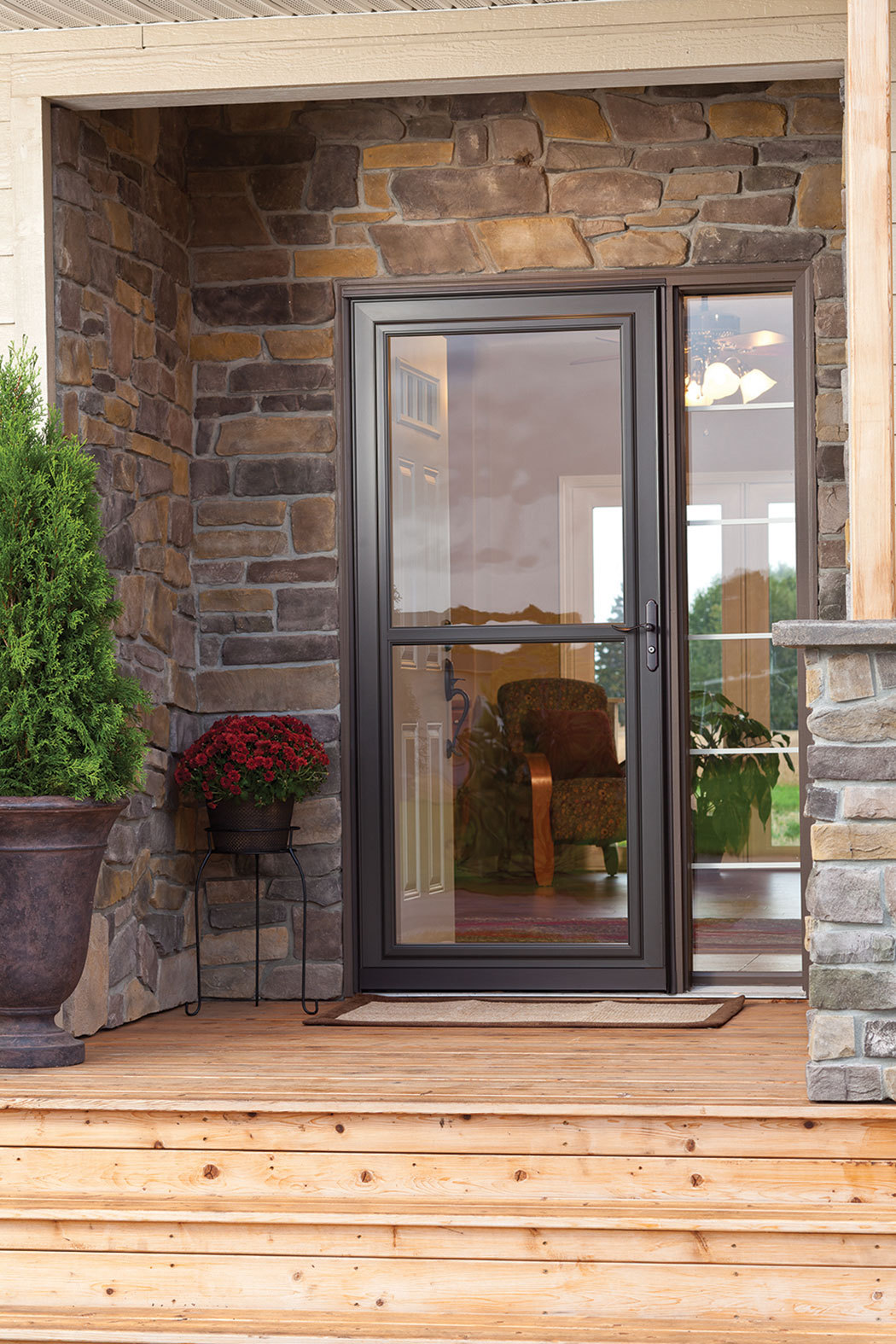Waudena Millwork Announces Innovative Ready Install Program; Matches Fully-Prepped LARSON Storm Doors with Entry Doors to Save Time | Business Wire & Waudena Millwork Announces Innovative Ready Install Program ... Pezcame.Com