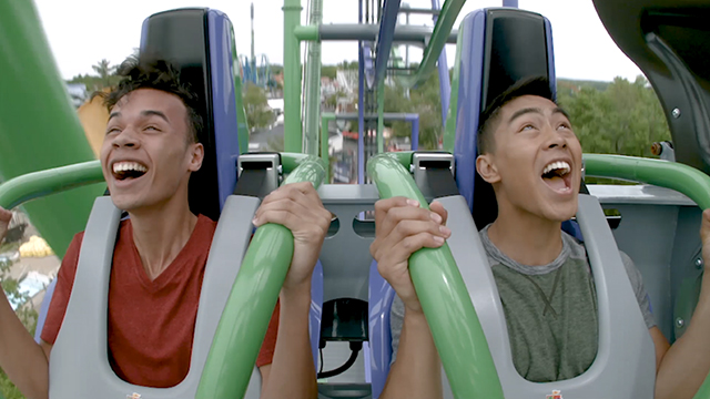 Six Flags New England premiers its 13th coaster, THE JOKER™ 4D Free Fly Coaster