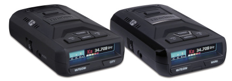 Uniden's R1 and R3 radar detectors are considered the best value for ultra high-performing radar detectors on the market, according to RD Forum. R1 and R3 are being lauded as the most sensitive windshield-mounted detectors and also offer the added benefit of excellent false alert filtering. (Photo: Business Wire)
