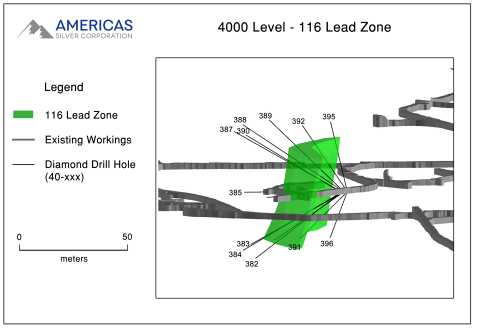 Figure 2 - 4000 Level (Graphic: Business Wire)