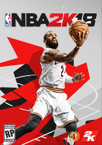 2K today announced that Cleveland Cavaliers point guard, Kyrie Irving, as the cover athlete of NBA® 2K18, the next iteration of the top-rated and top-selling NBA video game simulation series of the past 16 years*, which will be available on September 19, 2017. (Graphic: Business Wire)