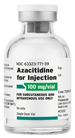 Fresenius Kabi Azacitidine for Injection - a generic alternative to Vidaza® - is now available. (Photo: Business Wire)