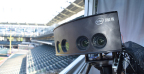 Beginning during the 2017 MLB regular season, Intel True VR is livestreaming one MLB game every Tuesday. Available via the Intel True VR app, the technology uses multiple panoramic, stereoscopic camera pods to create a more natural, realistic and immersive view that brings MLB fans closer to the action. (Credit: Intel Corporation)