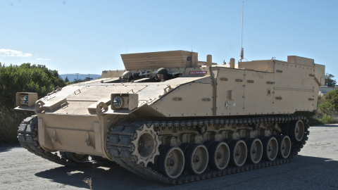BAE Systems and QinetiQ have teamed up to pursue opportunities to incorporate the latest technology for electric drive mobility systems on combat vehicles. (Photo: BAE Systems)