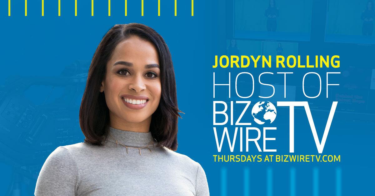 BizWireTV is hosted by Jordyn Rolling