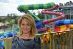 Candace Cameron Bure at Kalahari Resorts in Sandusky, Ohio. Just in time for summer, the resort has added new attractions at all locations nationwide. (Photo: Business Wire)