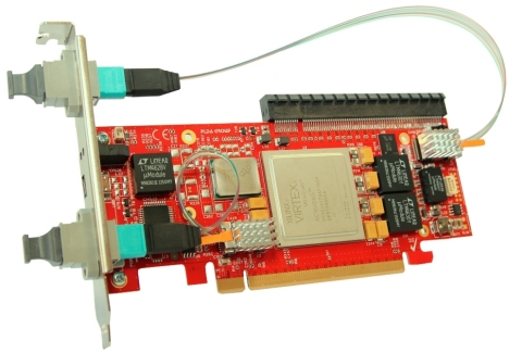 PLDA PCIe 4.0 Gen4SWITCH platform