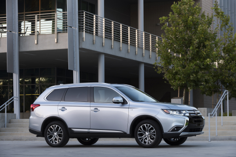 2017 Mitsubishi Outlander (Photo: Business Wire)