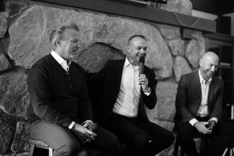 Hosts of Maven's Founders' Summit: Former Yahoo! CEO Ross Levinsohn (left); former News Corp and Yahoo! senior executive James Heckman (center); and former Accuen CEO Josh Jacobs. Levinsohn is a Maven director; Heckman is CEO and Jacobs is executive co-chairman. (Photo: Business Wire)