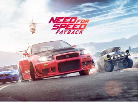 EA Reveals New Action Driving Fantasy with Need for Speed Payback (Photo: Business Wire)