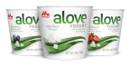 ALOVE Japanese-style Aloe vera yogurt, an entirely new yogurt experience for U.S. consumers, comes in three flavors including original Aloe, strawberry and blueberry. (Photo: Business Wire)