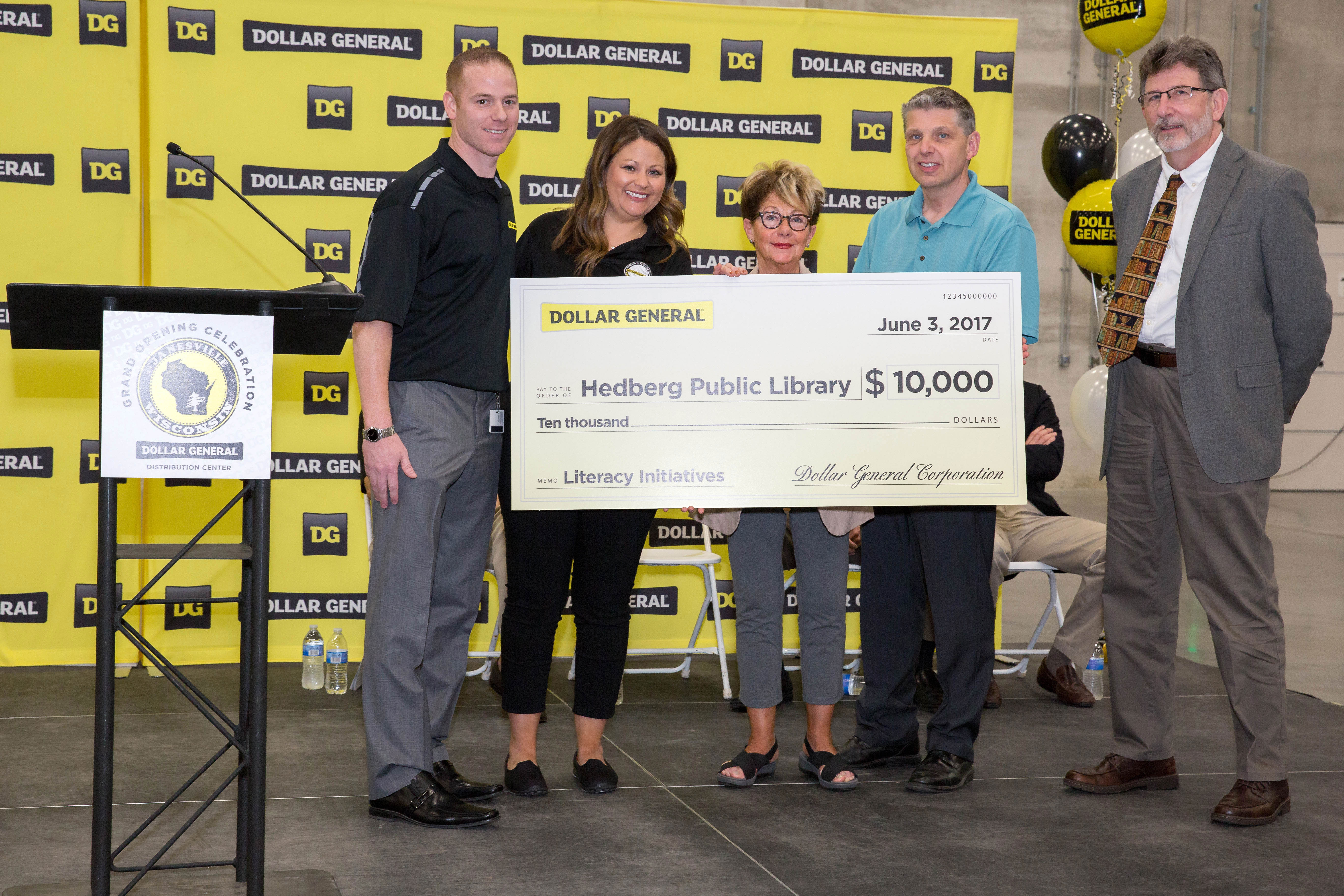 Dollar General Celebrates Grand Opening In Janesville Wisconsin Of