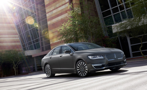 The Lincoln MKZ is one of the vehicles driving the momentum, according to IHS Markit Loyalty data. (Photo: Business Wire)