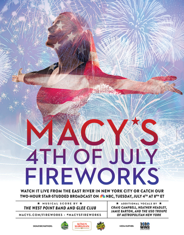 Macy's 4th of July Fireworks, the nation's largest Independence Day display, returns to the East Riv ...