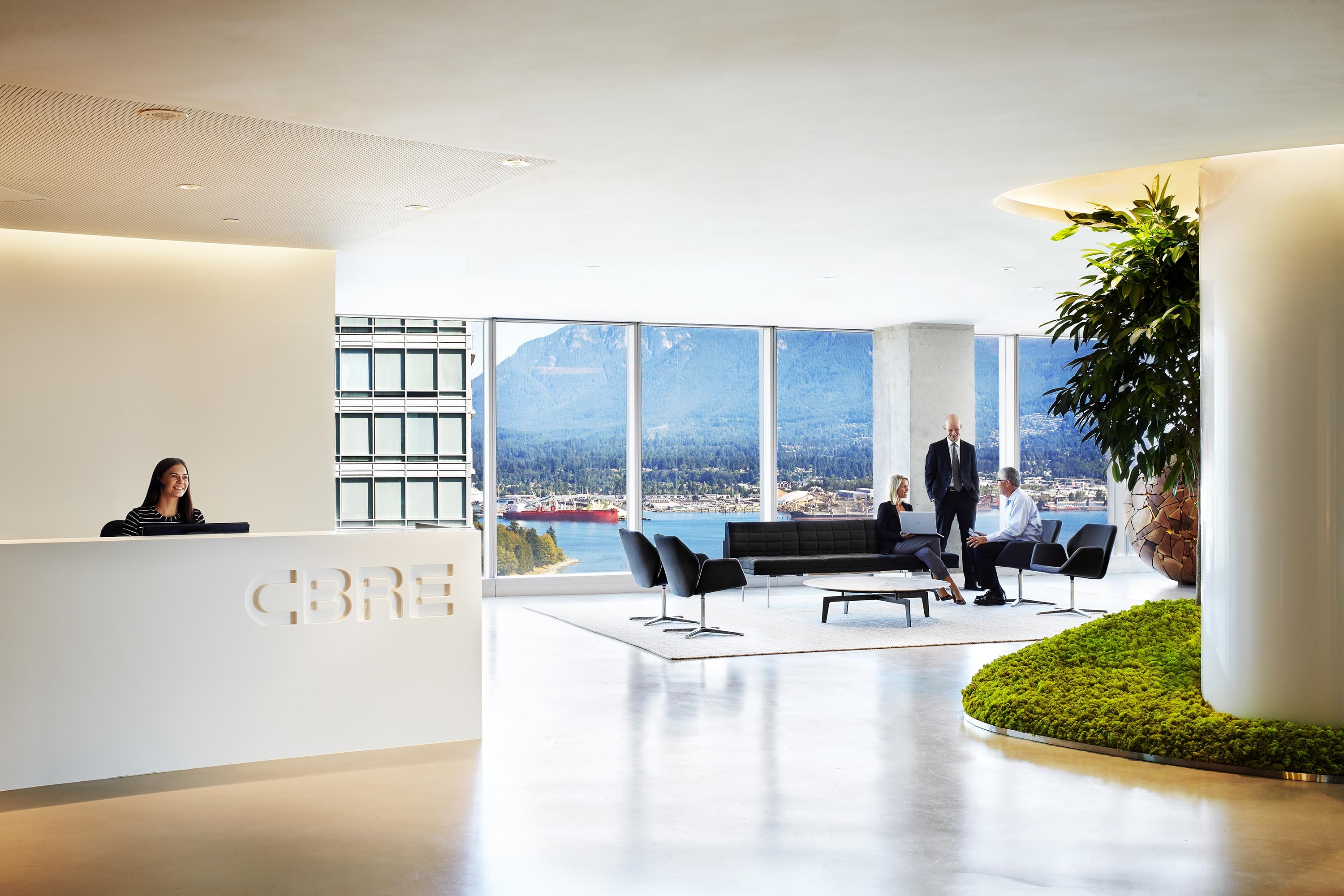 CBRE's Vancouver office (Photo: Business Wire)