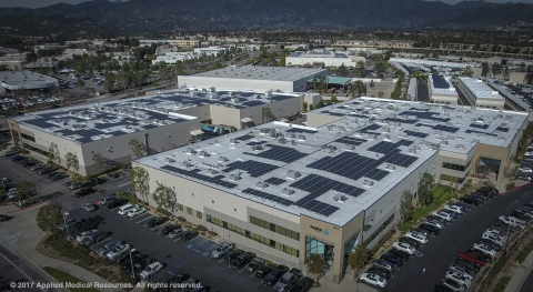 Applied Medical invests in solar to help power its multi-facility corporate headquarters.