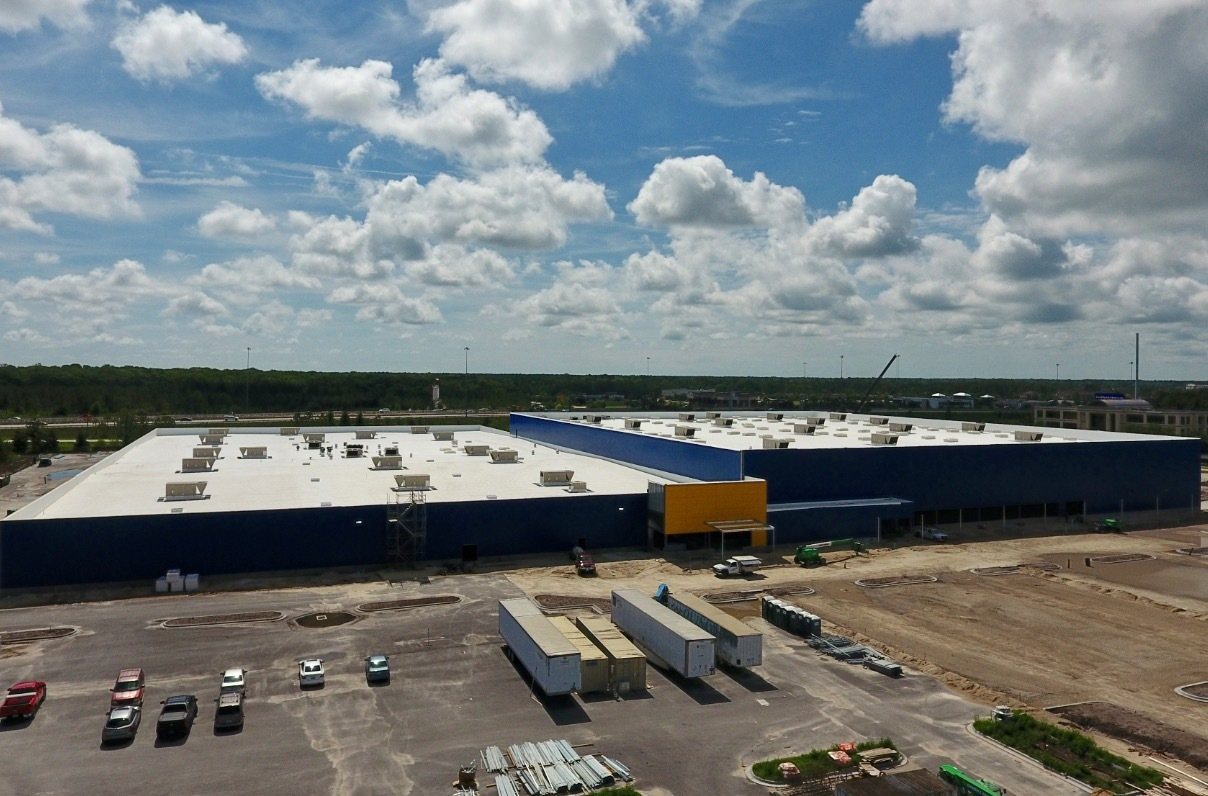 ikea to install solar panels atop future jacksonsville fl store opening fall 2017 array will. Black Bedroom Furniture Sets. Home Design Ideas