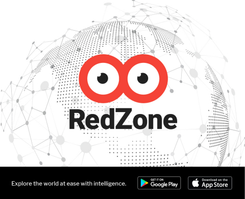 RedZone Map(TM) app's advanced technology will track real-time crowd behavior and migration patterns of threatening groups or individuals, identifying origin, destination and trends. (Photo: Business Wire)