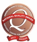39 Sunrise Senior Living Communities Earn 2017 Bronze National Quality Award (Graphic: Business Wire)