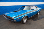 A rare Dodge HEMI Challenger R/T is one of only approximately 70 two-door hardtops made in 1971 and will cross the block at the Barrett-Jackson Northeast Auction (Photo: Business Wire)