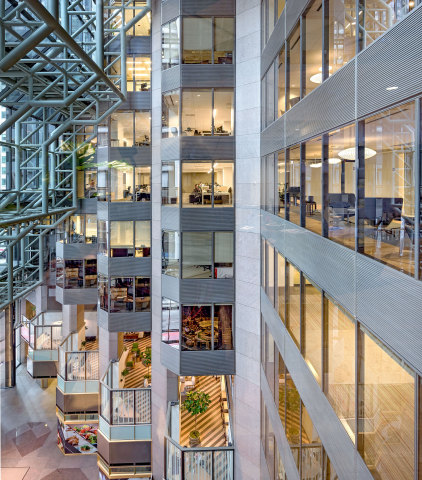 Trustwave headquarters at 70 W. Madison St. in Chicago (Photo: Business Wire)