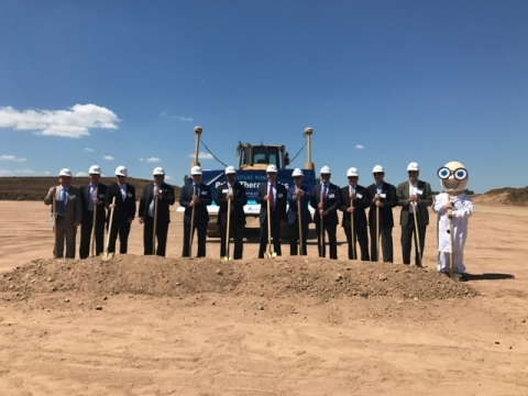 Executives from Prime Therapeutics, United Properties, RJ Ryan and the City of Eagan break ground on the new Prime Therapeutics operations building in Eagan set up open in 2018. (Photo: Prime Therapeutics)