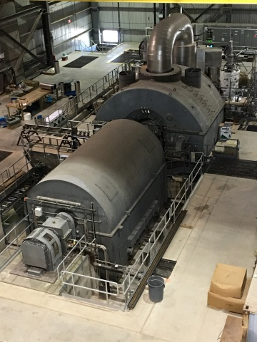 Fuji Electric's Steam Turbine Generator Green Electron Power Project St. Clair Township, Ontario (Oil Springs Line near Greenfield Rd)