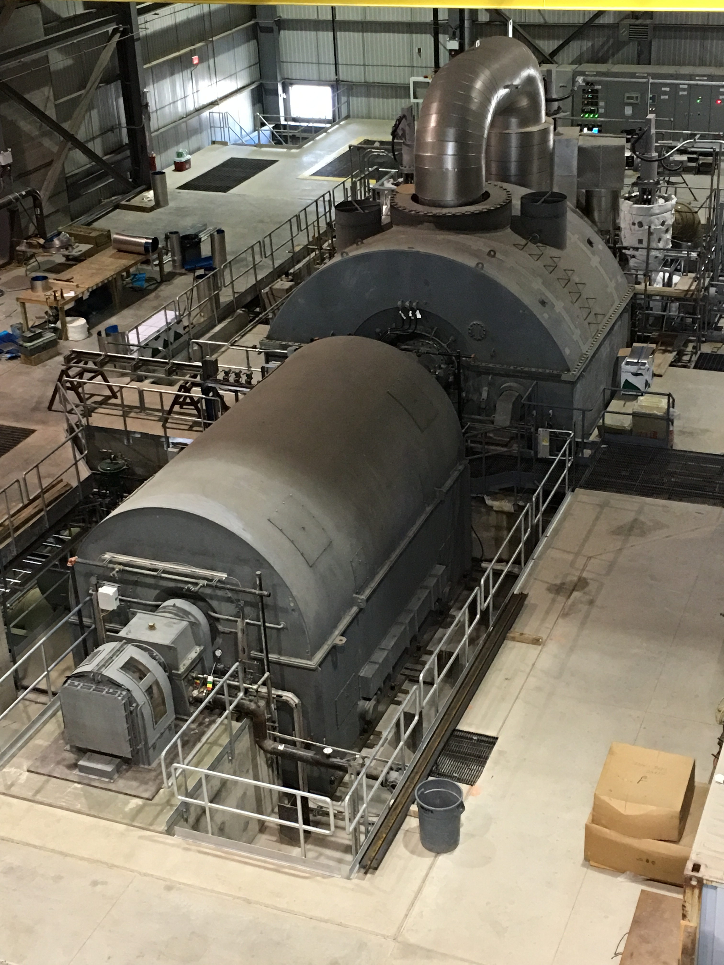 Fuji Electric Supplies Steam Turbine Generator for Green Electron