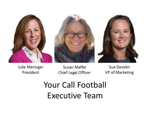 Your Call Football expands its leadership team as it prepares to bring its play-calling competition to market in 2018. (Photo: Business Wire)
