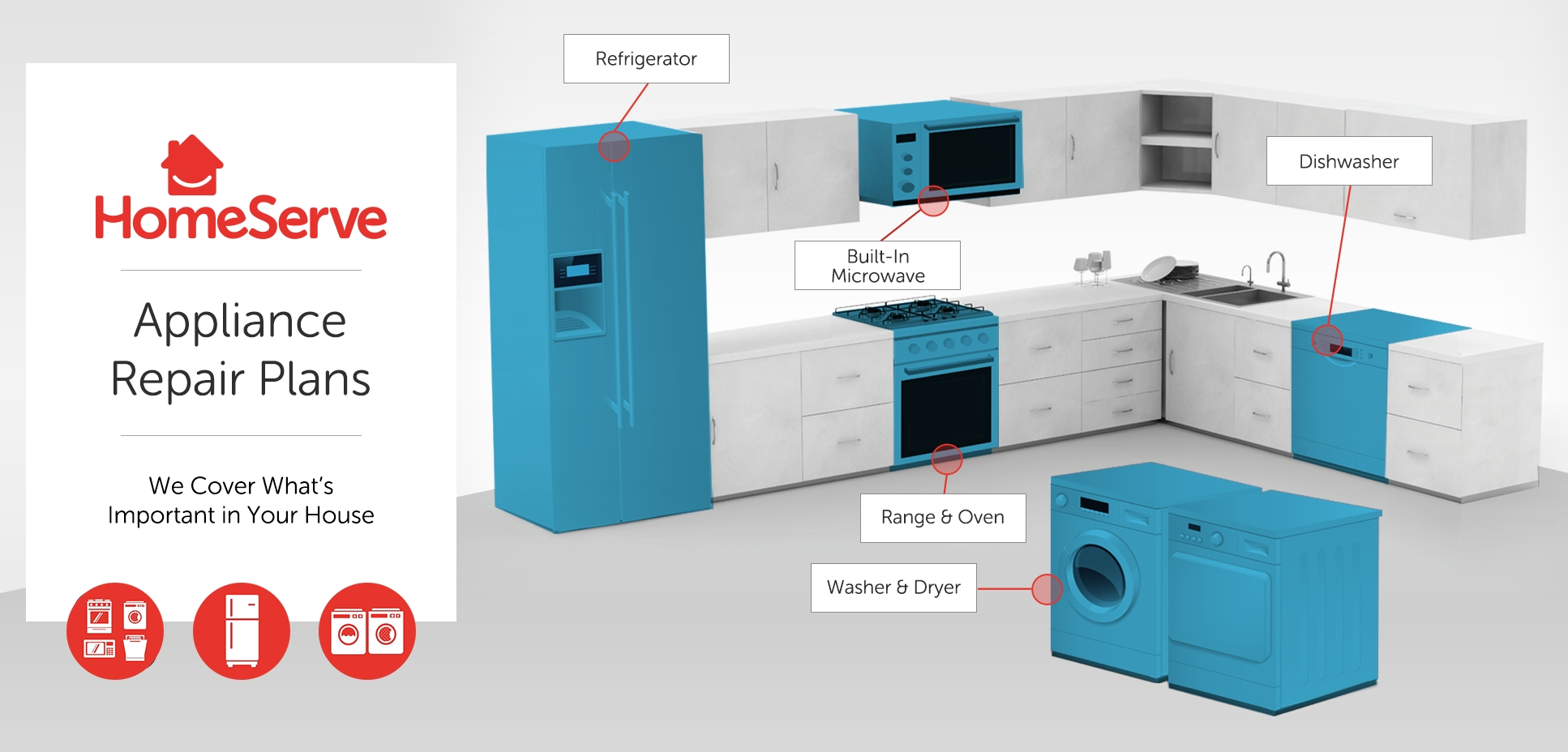 Appliance Protection Plans from HomeServe USA Now Available for ...