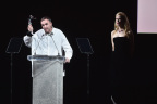 Calvin Klein, Inc. Chief Creative Officer Raf Simons Presented with the Womenswear Designer of the Year and Menswear Designer of the Year Awards at the 2017 CFDA Fashion Awards (Photo: Business Wire)
